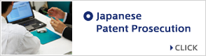 Japanese Patent Prosecution